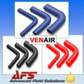 VENAIR 90 DEGREE Silicone Hose, Silicon Pipe BLUE, BLACK or RED